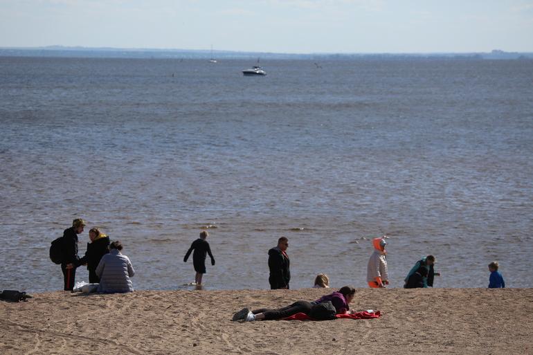 Пляж парка 300-летия закроют на два года ради благоустройства