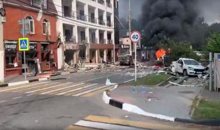 Как минимум один человек погиб при взрыве газа в гостинице Геленджика
