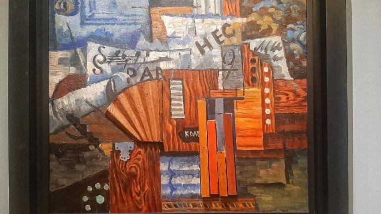 В Михайловском замке открылась выставка итальянского футуризма и русского кубофутуризма