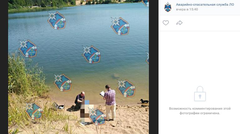В Тосненском районе в карьере утонула женщина