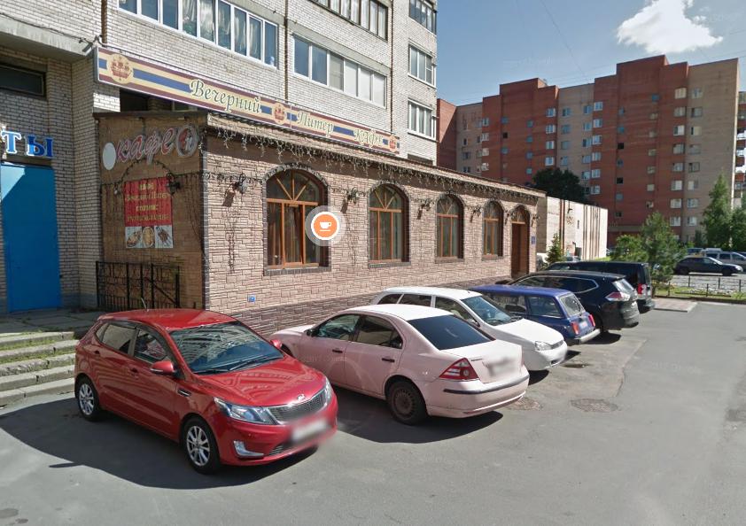 На проспекте Ветеранов в Петербурге ночью сгорело кафе «Вечерний Питер»