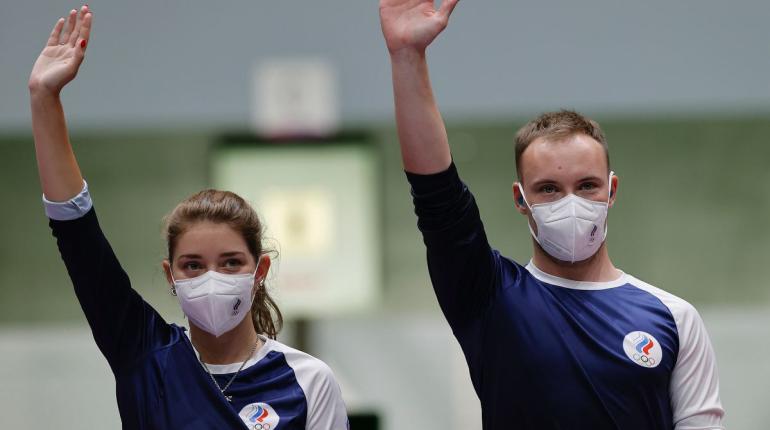 Бацарашкина и Черноусов выиграли серебро Олимпиады по стрельбе из пистолета
