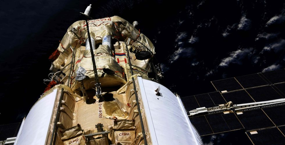 Российская «Наука» развернула МКС на 45 градусов, но там все в порядке