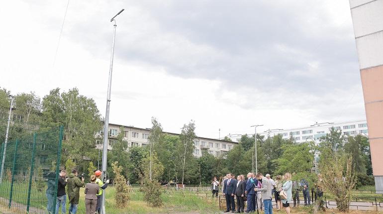 В Невском районе появится 2100 новых светодиодных светильников