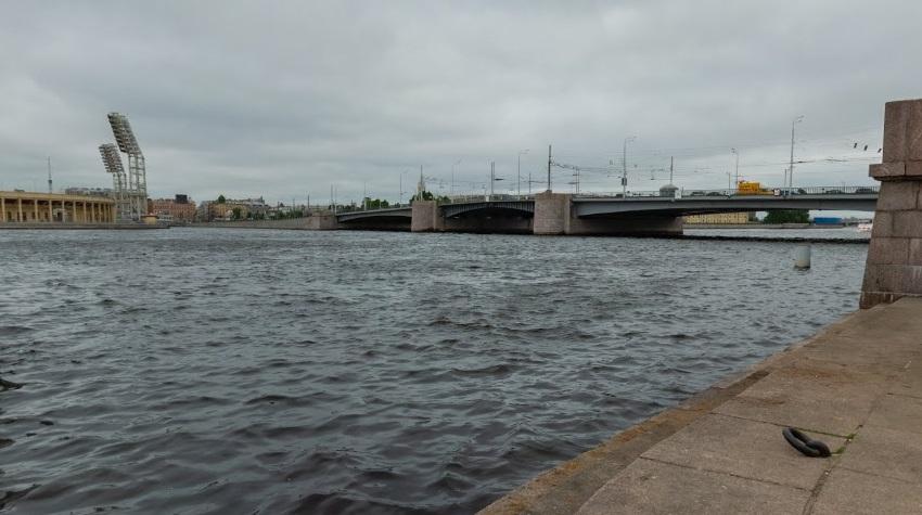 Мужчина прыгнул в Неву с Тучкова моста