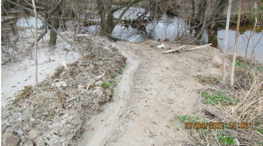Компанию, загрязнявшую реку Каменку отходами,  оштрафовали