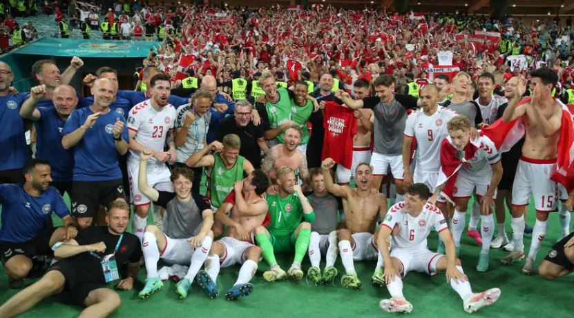 Дания обыграла Чехию со счетом 2:1 и прошла в полуфинал ЕВРО-2020
