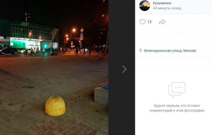 Больше 100 человек задержали после массовой драки в столичном районе Кузьминки