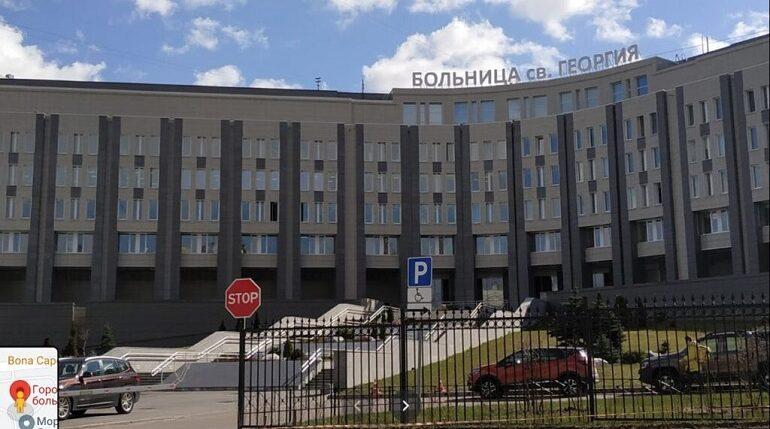 К декабрю в больнице Святого Георгия в Петербурге достроят новый корпус