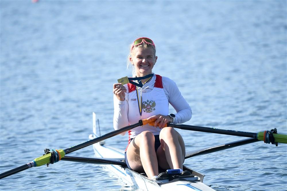 Петербурженка Анна Пракатень выиграла серебро в одиночной гребле на Олимпиаде