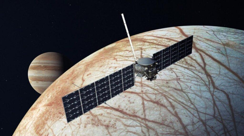 NASA и SpaceX подписали контракт для поисков жизни на спутнике Юпитера за 178 млн долларов