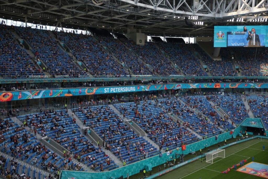 УЕФА поблагодарил Петербург за проведение «замечательных матчей» Евро-2020