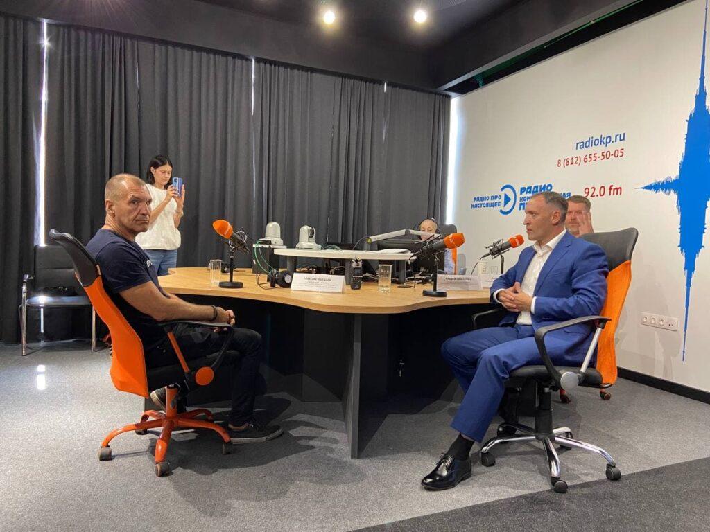 Социолог Шугалей обсудил с экспертами коронавирусные реалии Петербурга