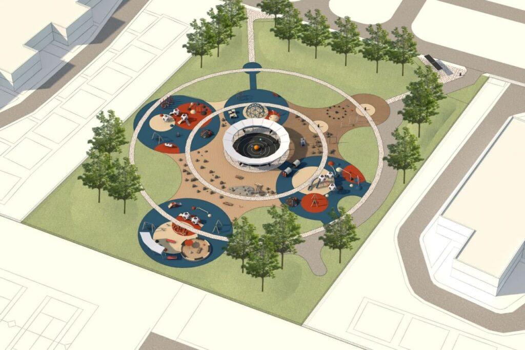 Setl Group создаст необычную детскую площадку в ЖК «Солнечный город»