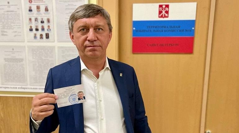 Сергей Соловьев получил удостоверение кандидата в депутаты Госдумы
