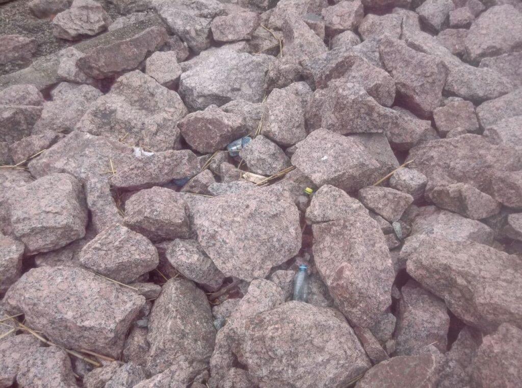 Жители Крестовского острова пожаловались на замусоренную набережную