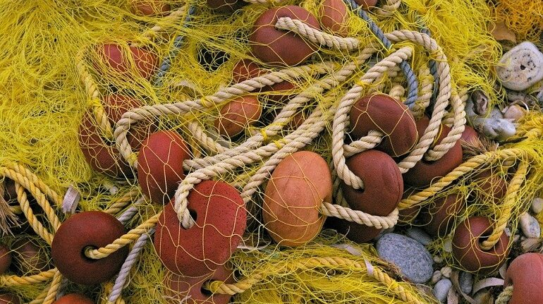 Мужчина запутался в рыболовных сетях на Безымянном озере
