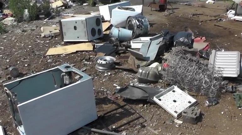 В Петербурге закрыли подпольный пункт по приему и переработке металлолома