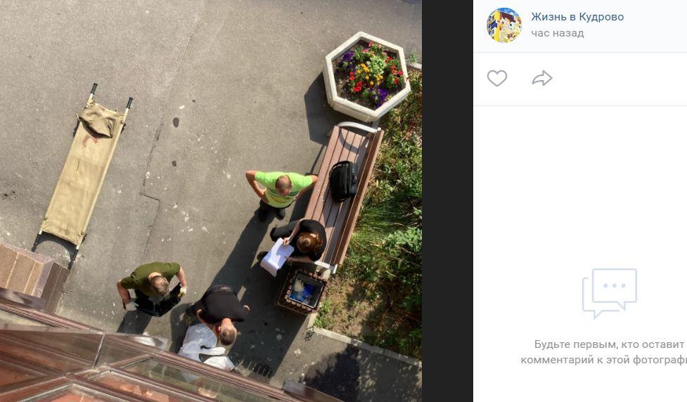 В Кудрово молодая девушка упала с высоты и разбилась насмерть