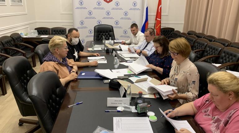 В Санкт-Петербургскую избирательную комиссию представлены документы для регистрации списков кандидатов на выборах депутатов Законодательного Собрания Санкт-Петербурга седьмого созыва