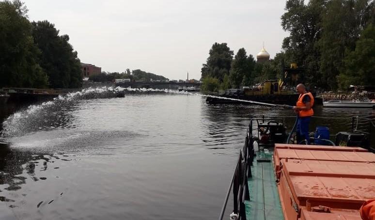 Петербургские экологи наложили более 1 млн штрафов за неделю