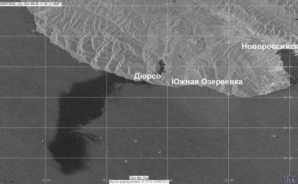 РАН: площадь разлива нефти в Черном море недооценили