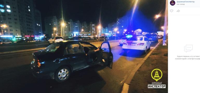 Пьяного водителя-бегуна с «бурятским спецназовцем» задержали на Оптиков