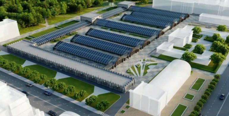 Обновленные оранжереи Таврического сада откроют к лету 2025 года