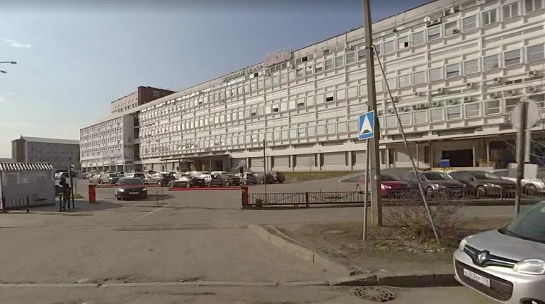 В бизнес-центре «Охта» вспыхнул пожар