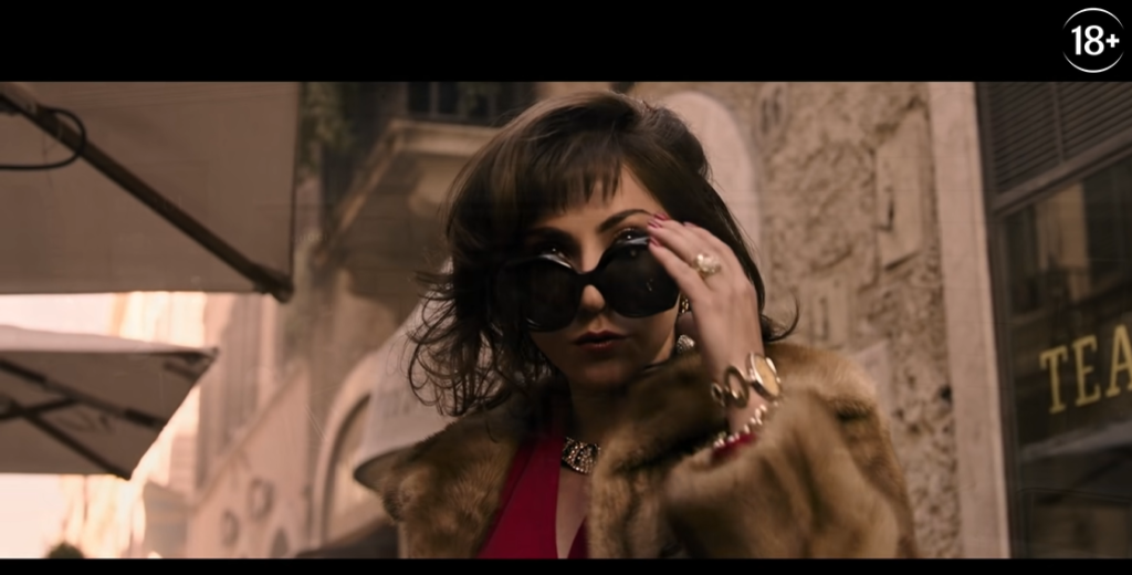 На YouTube вышел первый трейлер фильма «Дом Гуччи» с Леди Гагой, Адамом Драйвером и Аль Пачино