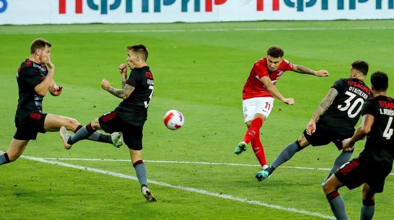 Главный тренер «Бенфики» сравнил игру «Спартака» с гандболом