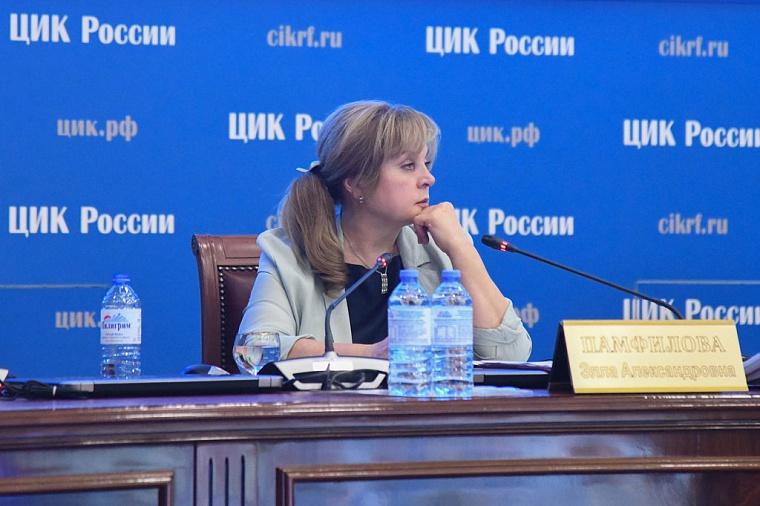 Памфилова уволила трех глав ТИК после случаев вбросов бюллетеней