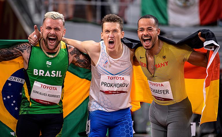 Российская сборная занимает 3-е место в медальном зачете Паралимпийских игр