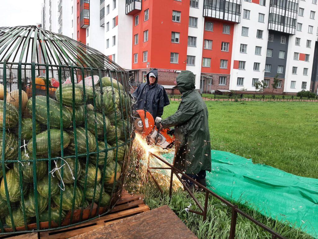 На улицах Петербурга ликвидировали 45 точек стихийной торговли