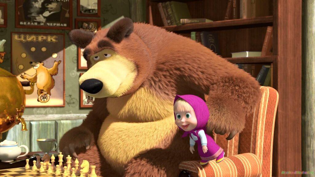 Мультсериал «Маша и Медведь» набрал более 100 миллиардов просмотров на YouTube