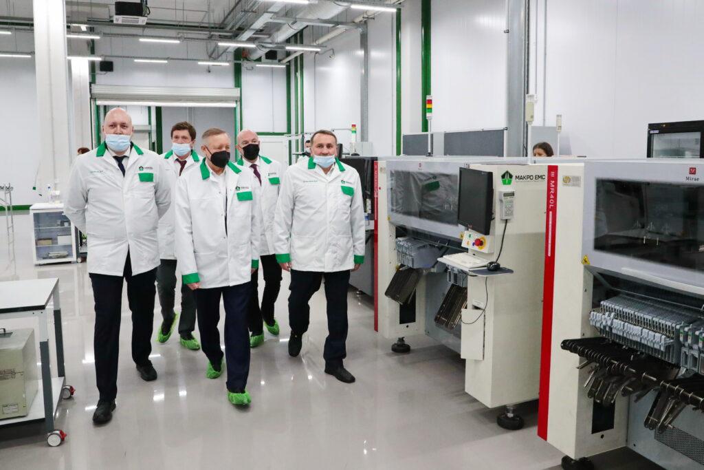 В Петербурге построили новый современный завод электронных модулей за 600 млн рублей