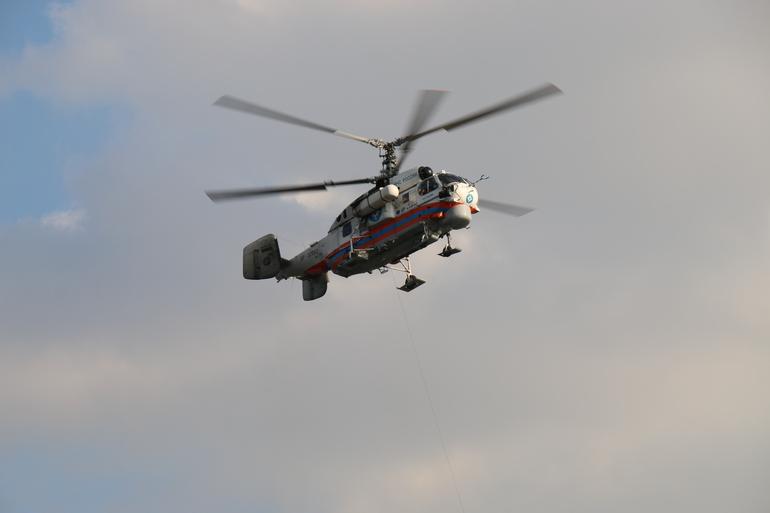 Обломки переставшего выходить на связь вертолёта нашли на горе Острой