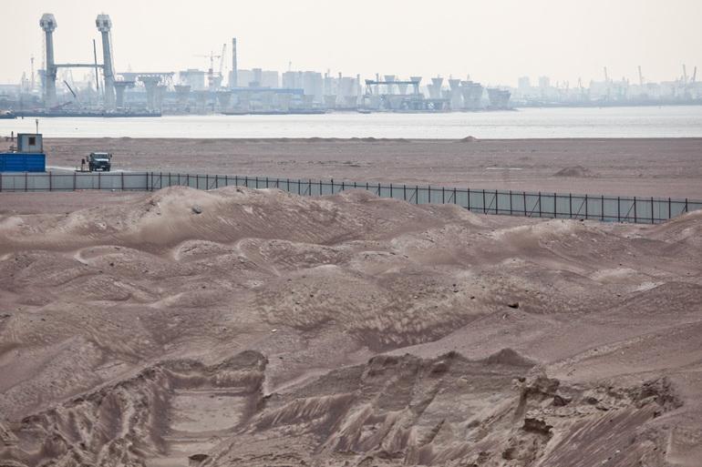 Границы районов Петербурга расширятся из-за намывных территорий