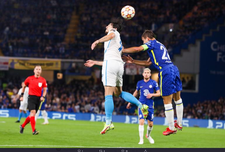 «Зенит» и «Челси» сыграли первый тайм по нулям