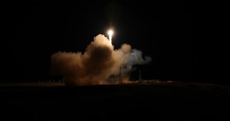 Запущенные с Байконура 34 спутника OneWeb вышли на орбиту