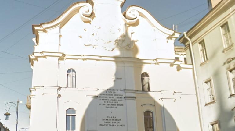 В Петербурге восстановят мемориал в память обороны полуострова Ханко