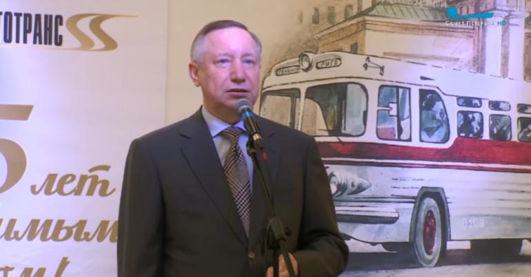 В Петербурге заработал первый парк для автобусов на газомоторном топливе