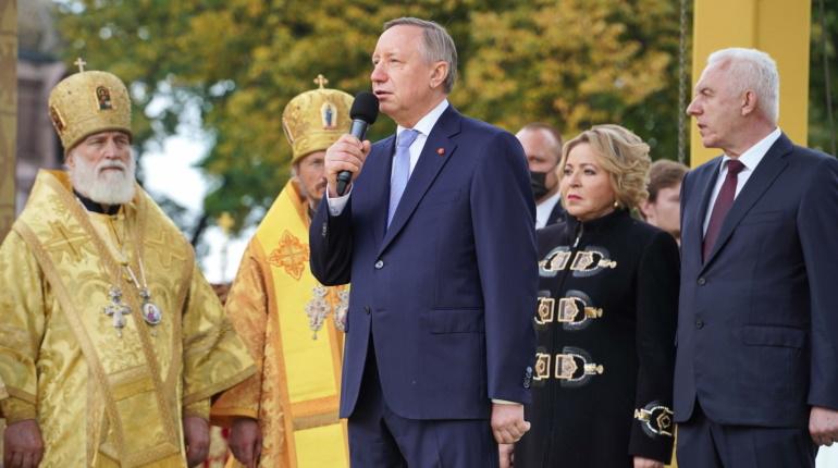 Беглов поздравил петербуржцев с 800-летием Александра Невского