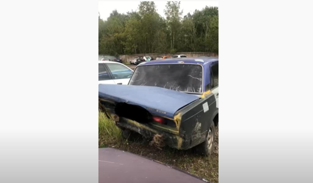 Лихач на «Жигули» устроил гонки с петербургской полицией, остановить его смогли пулей