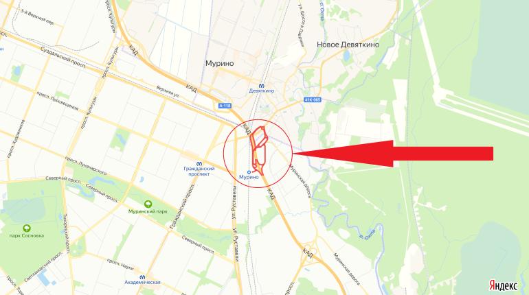 Из-за ремонта будут перекрывать все съезды развязки КАД в Мурино