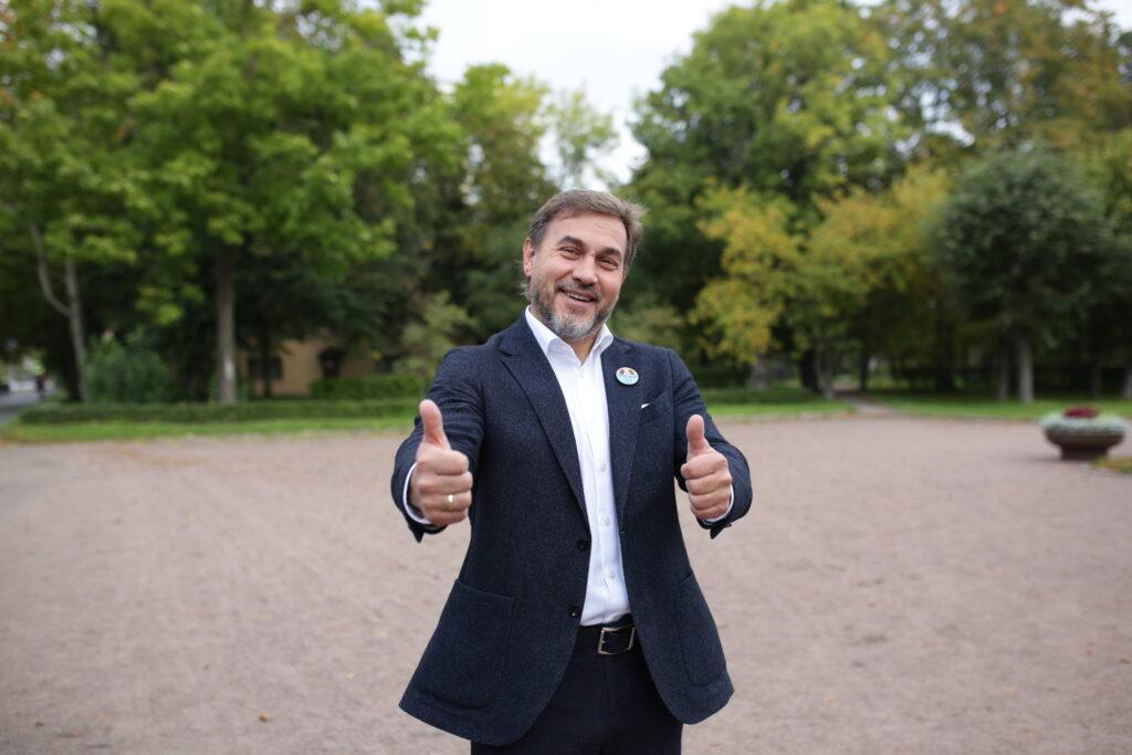 Петербургские лидеры «Новых людей» проголосовали на выборах