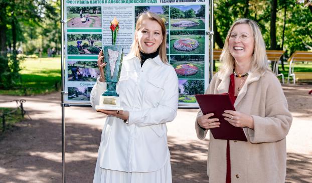 Названы победители Фестиваля цветов в Александровском саду