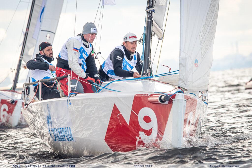 В Петербурге проходят соревнования яхтсменов Национальной парусной Лиги-2021