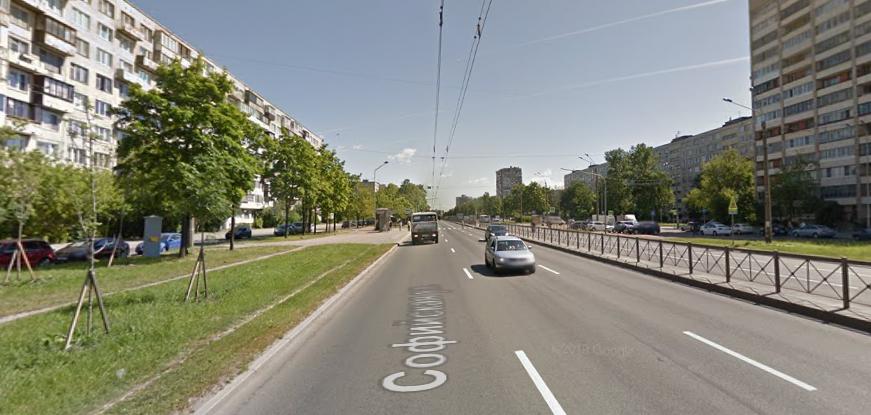 В Колпино открыли новый участок Софийской улицы
