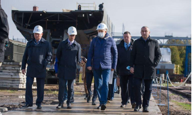 Верфи Ленобласти инвестируют 200 миллионов рублей в свою модернизацию